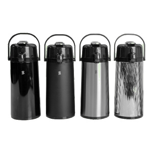 Portable coffee carafes