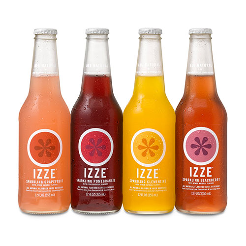 Izze carbonated drinks